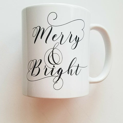 Mugg'N Co Merry & Bright Coffee Mug