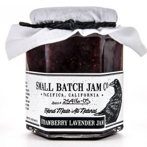 Small Batch Jam Co. Strawberry Lavender Jam (6.5 oz) - Cool Beans Box