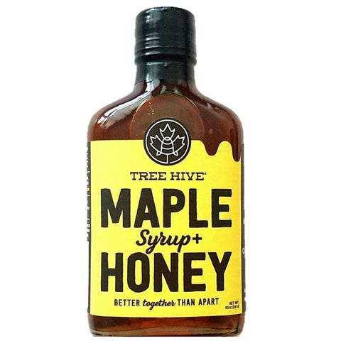 Tree Hive Maple Syrup + Honey