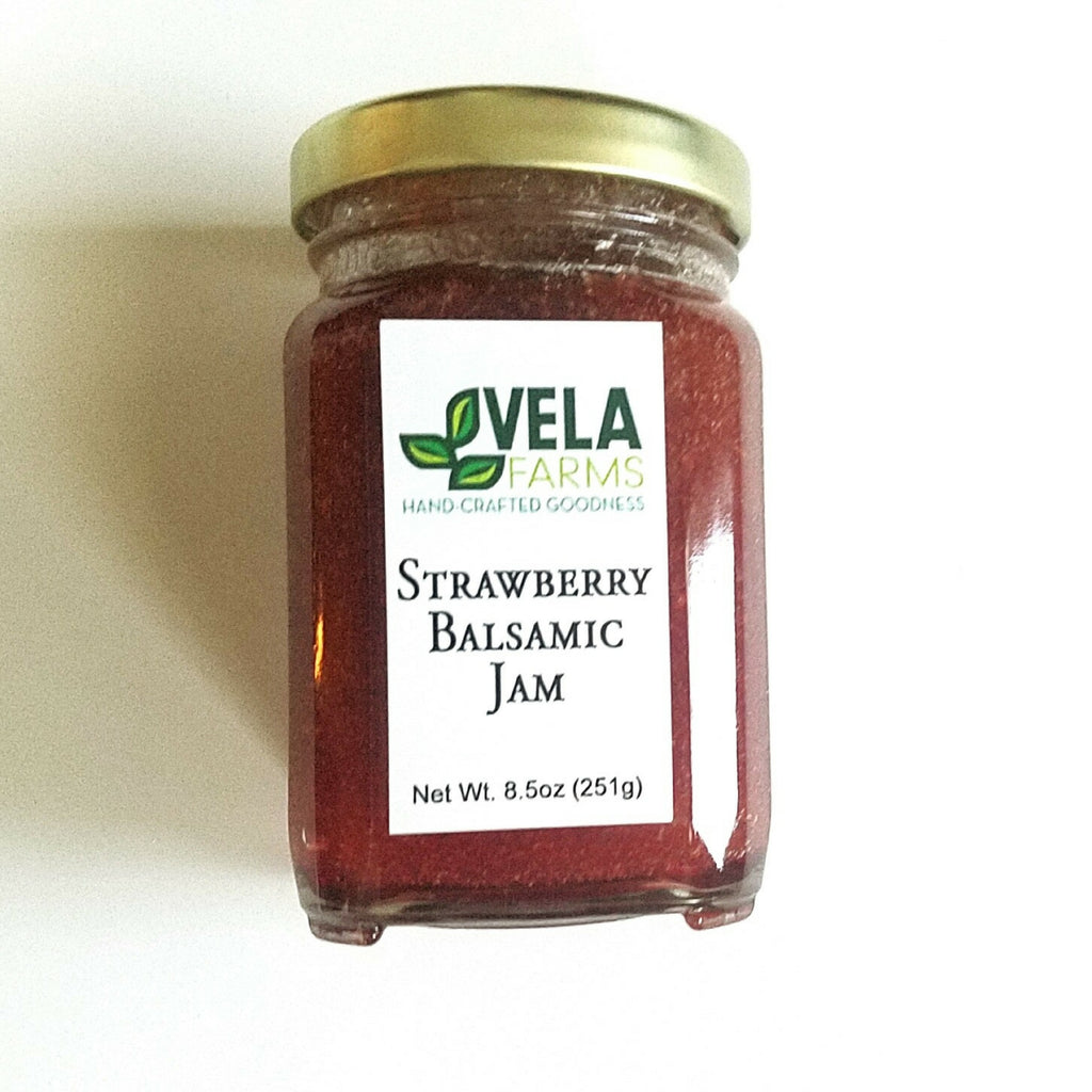 Vela Farms Strawberry Balsamic Jam