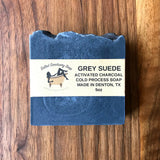 Salted Sanctuary Grey Suede Cold Process Soap