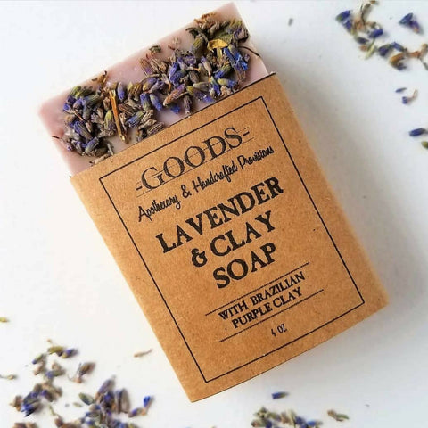 Goods Apothecary & Handcrafted Provisions Lavender & Clay Soap
