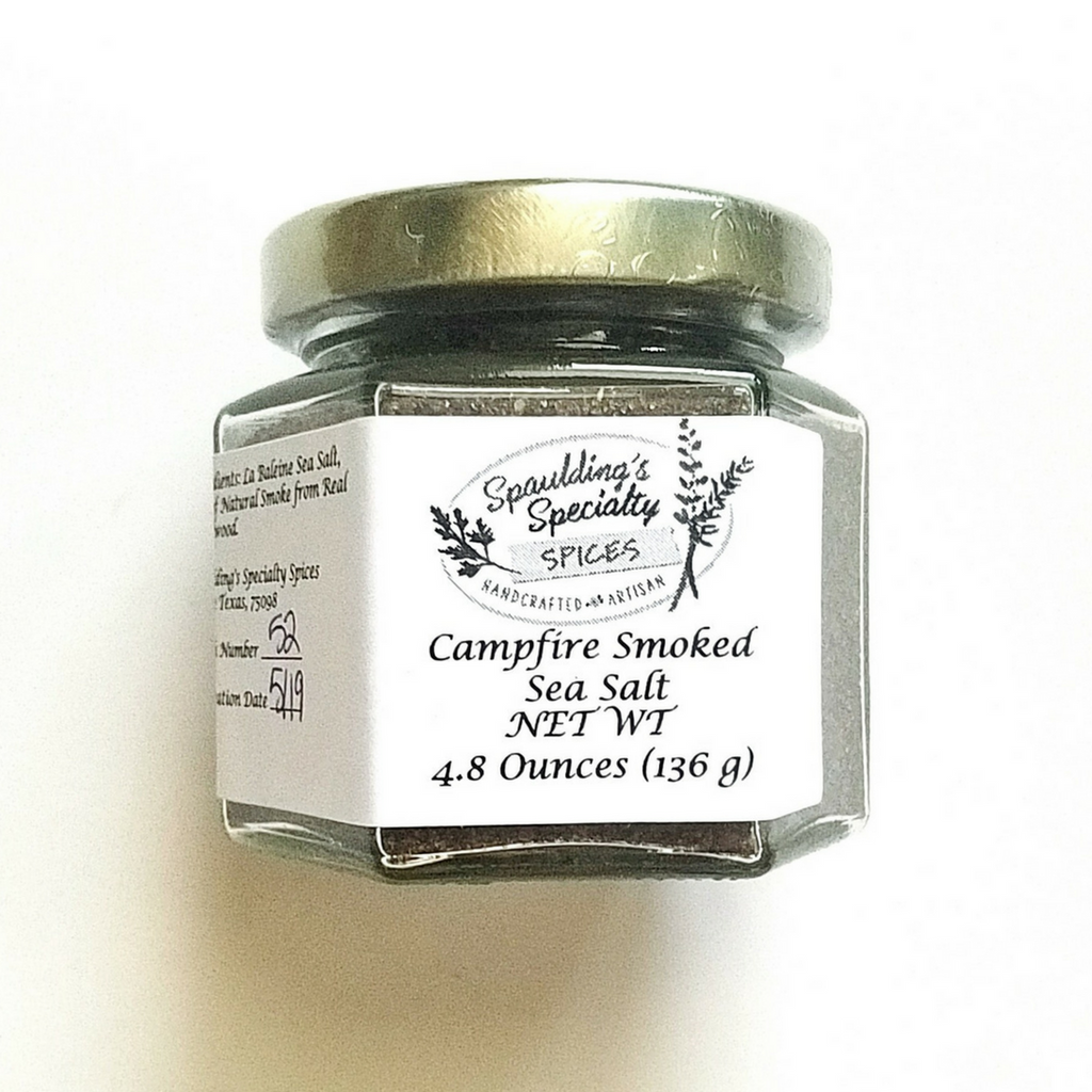 Spaulding's Specialty Spices Campfire Smoked Sea Salt