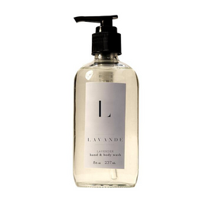 Lavande Farm's Lavender Hand & Body Wash 8 oz