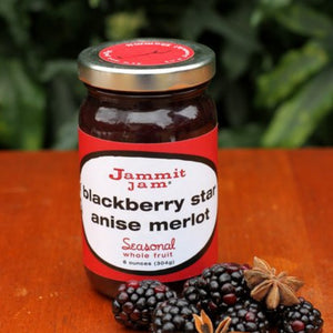 Jammit! Jam Blackberry Star Anise Merlot, 8 oz. Jar - Cool Beans Box