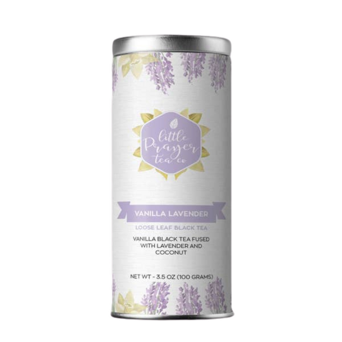 Little Prayer Tea Company Vanilla Lavender Loose Leaf Black Tea