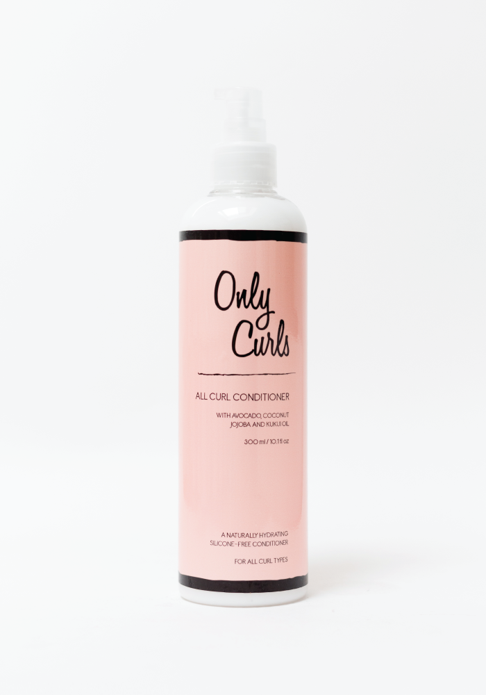 Only Curls Conditioner Acondicionador Hidratante para cabello ondulado y rizado