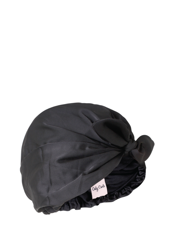 Only Curls: Satin Sleep Turban (Turbante de Satén para Dormir)