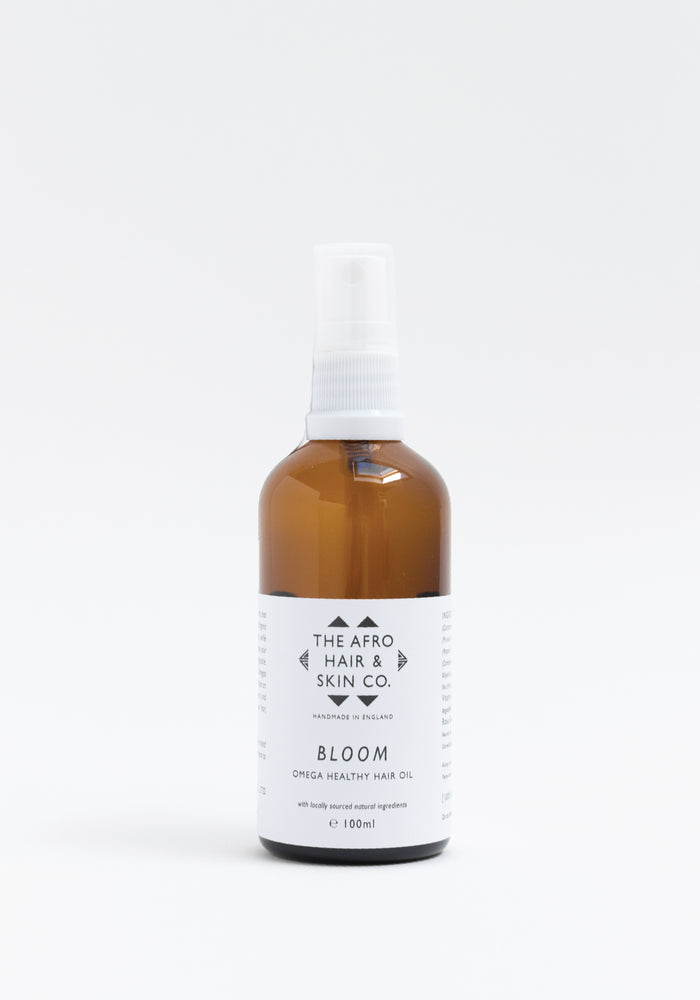 The Afro Hair & Skin Co. BLOOM Omega Healthy Hair Oil (Aceite capilar)