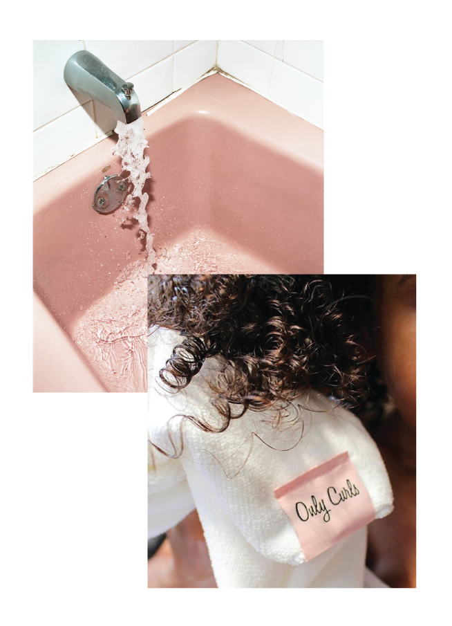 Only Curls: Hair Towel Toalla especial para rizos