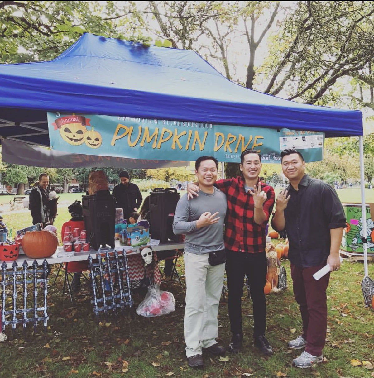 Excited to be a part of the Vancouver Pumpkin Drive 2016