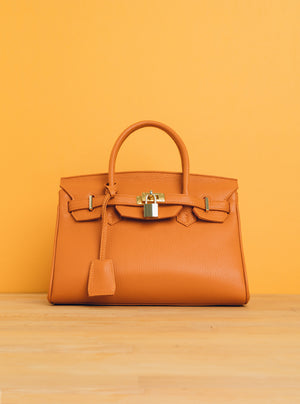 B-bag Tote in Marigold Orange