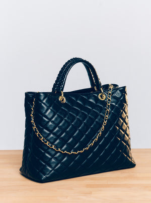 Grace Shoppers Tote in Black