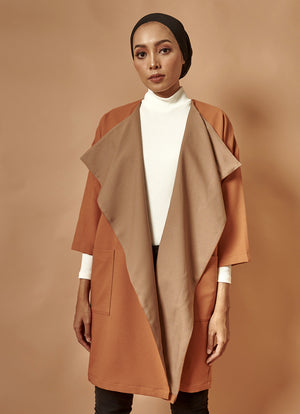 [PRE-ORDER] The Everyday Outer in Brown-Taupe