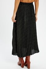 Woven Tiered Long Skirt