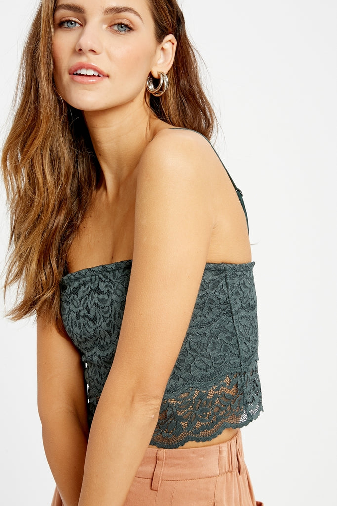 Allie All Over Lace Bralette