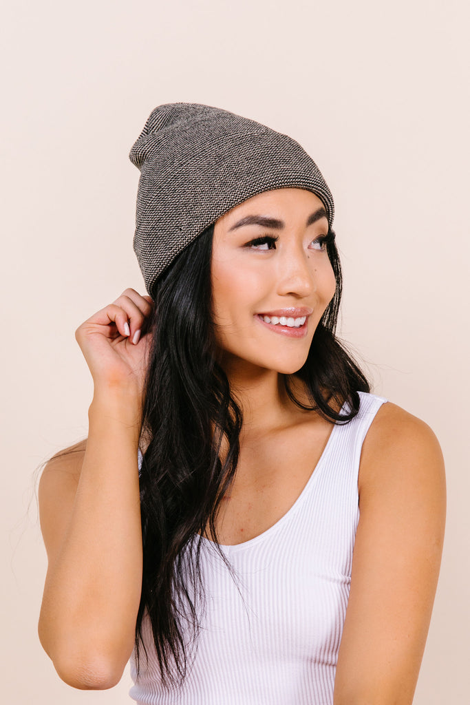 Harper Striped Beanie