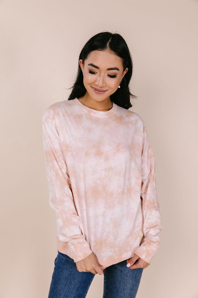 To Dye For LS Tie Dye Top