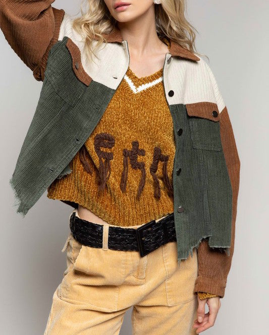Simply Irresistible Colorway Corduroy Jacket