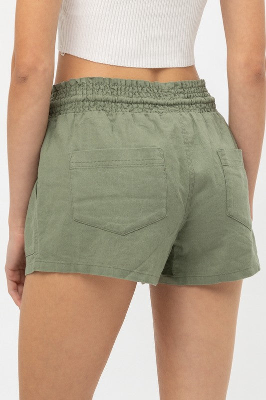 Natural Sights Linen Short