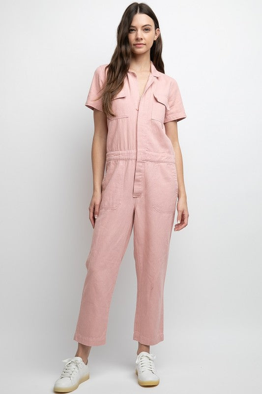 Sandy Utility Jumpsuit
