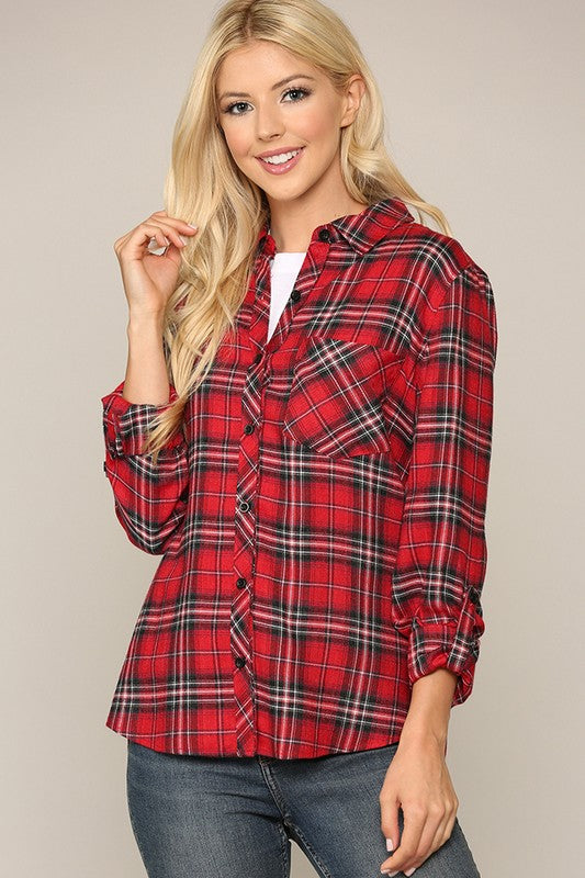 The Brave Button Down Flannel
