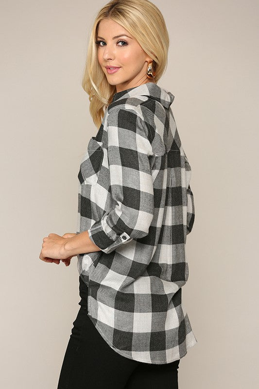 The Spirit Buffalo Check Plaid