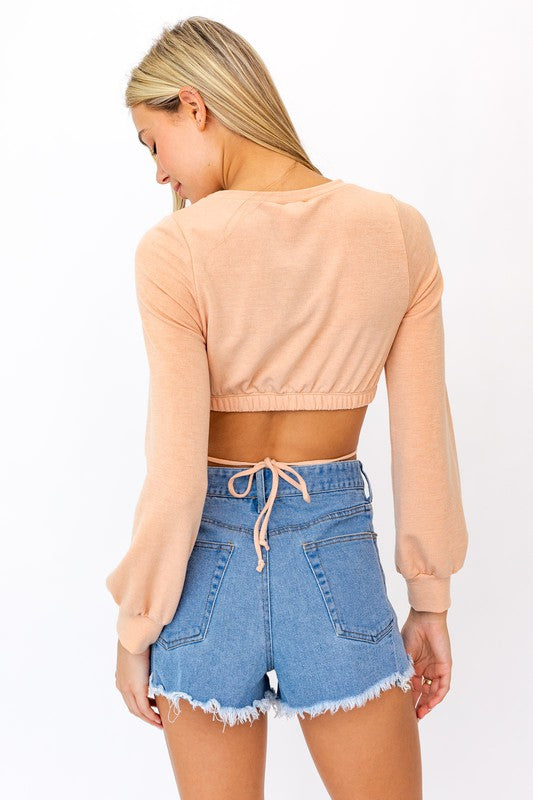Spellbound Tie Back Top