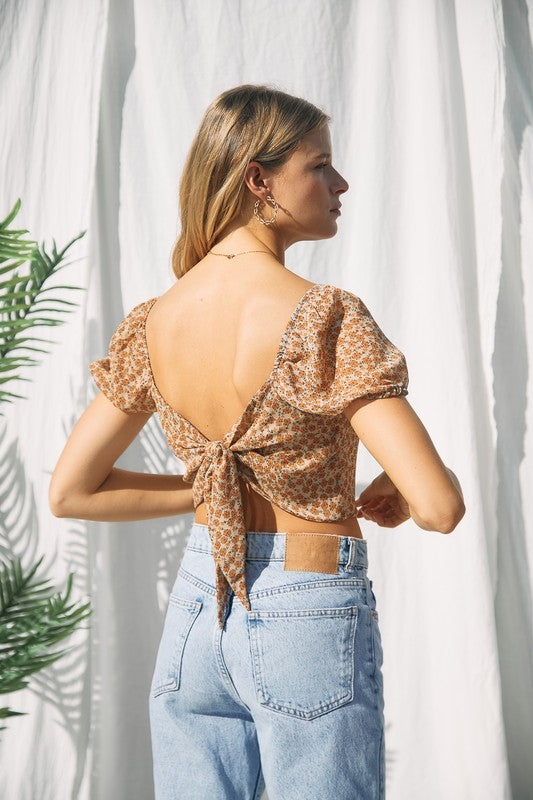 Gigi Tie Back Top