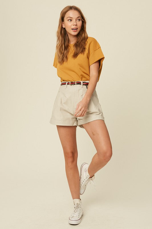 Wilda Pleated Shorts