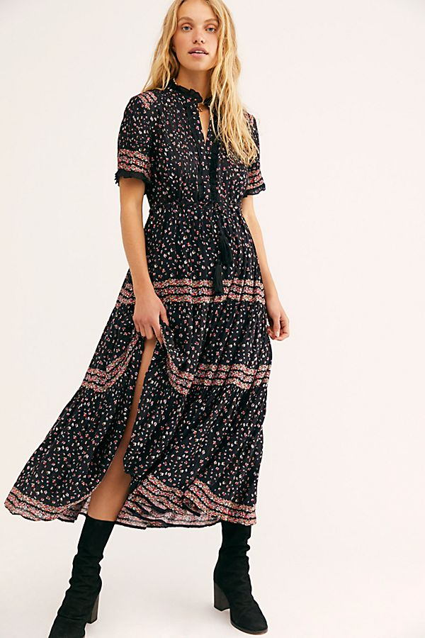 Rare Feeling Maxi Dress Free People