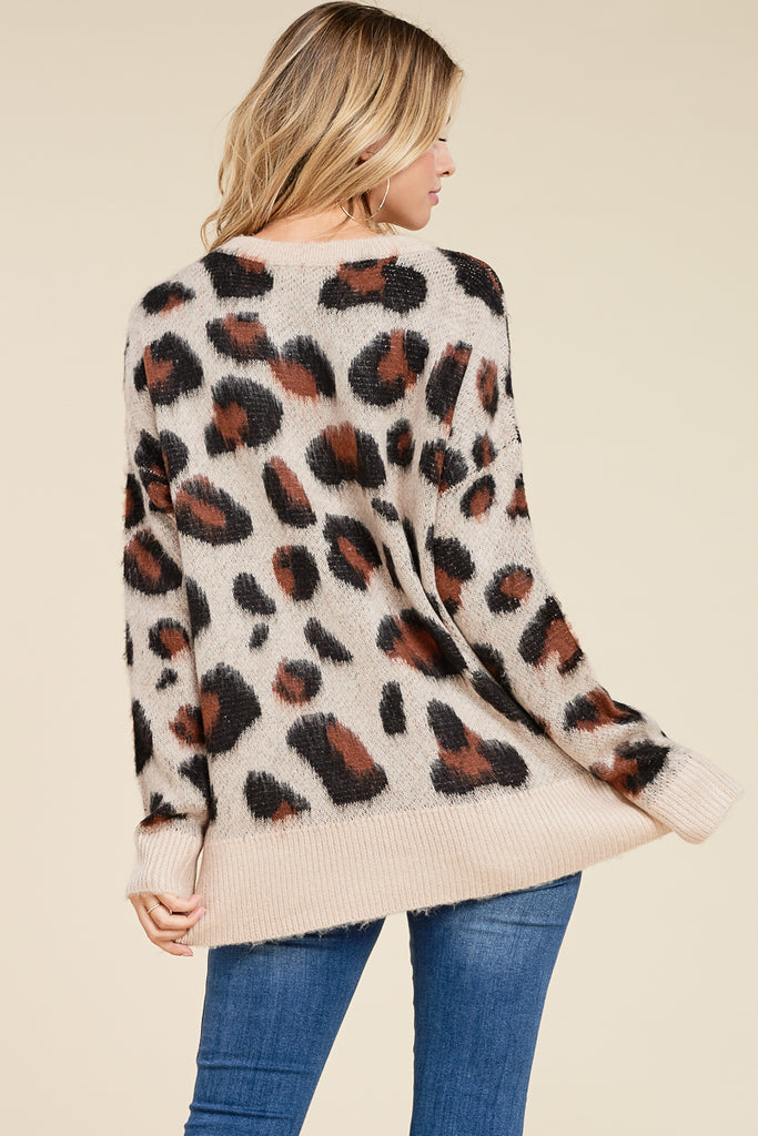 Leo The Leopard Sweater
