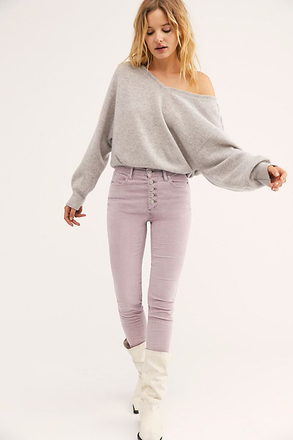 Sun Chaser Cord Skinny Pants by Free People