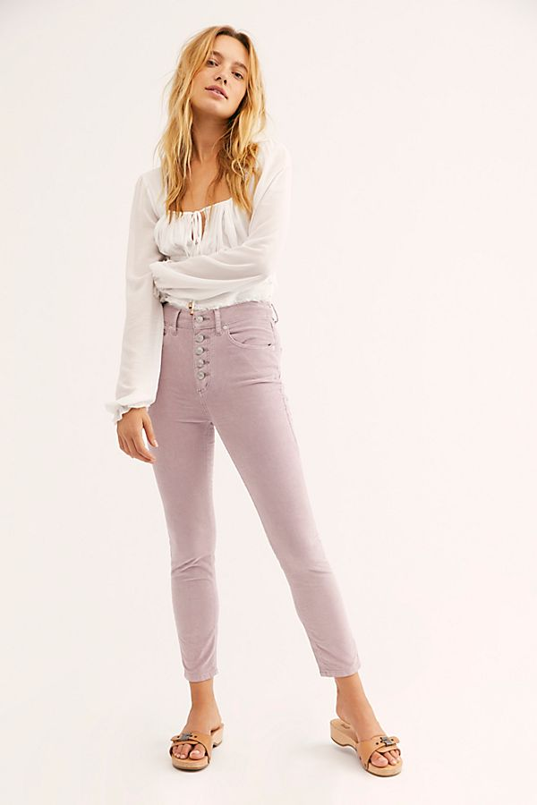 Sun Chaser Cord Skinny Pants