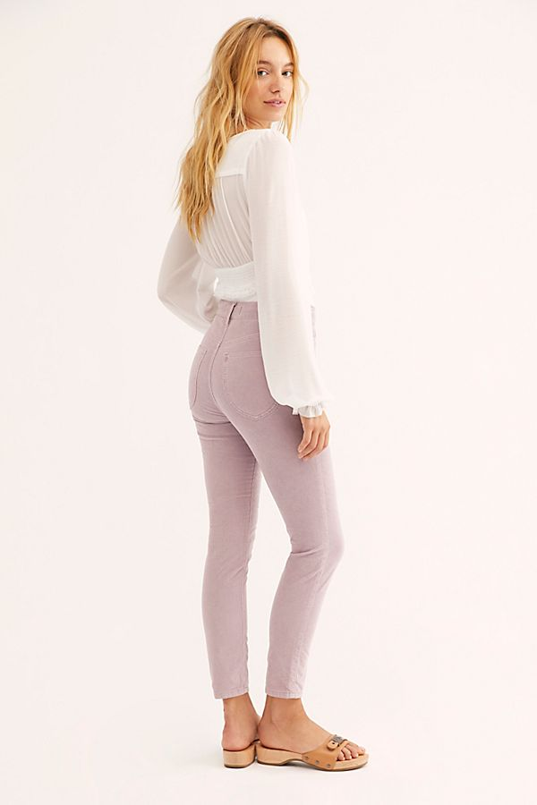 Sun Chaser Cord Skinny Pants Free People