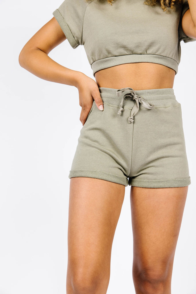 Balboa Cuffed Lounge Short