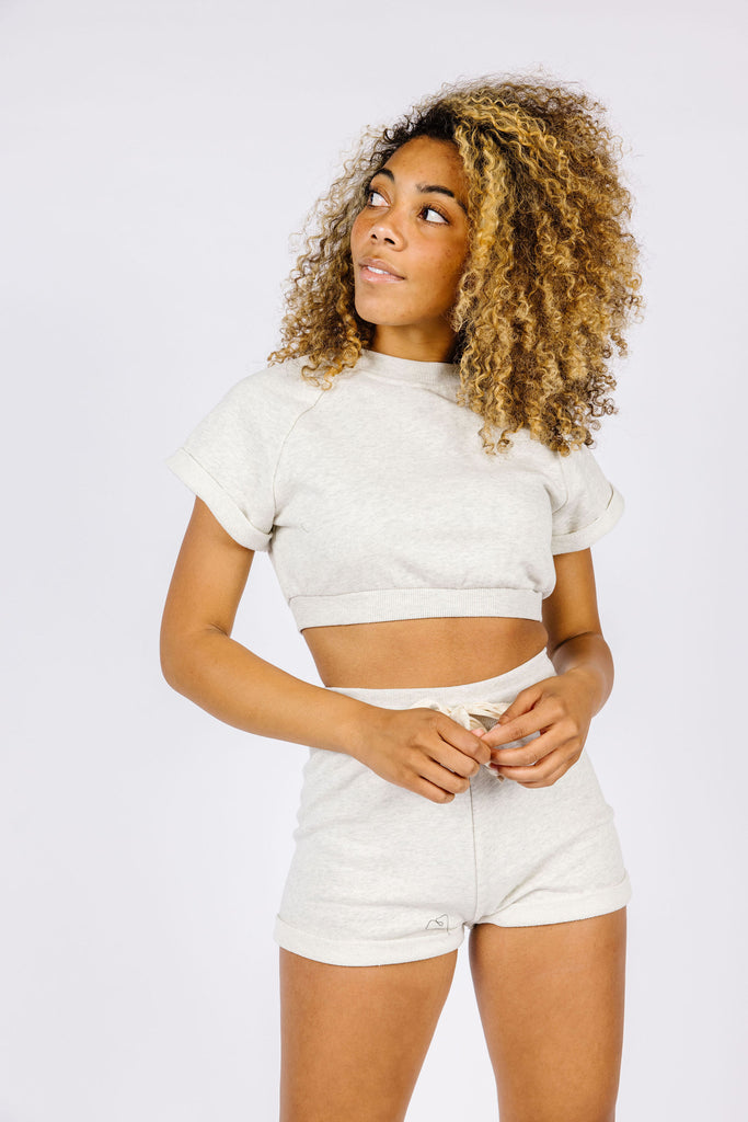 Balboa Cropped Crew Neck (set)
