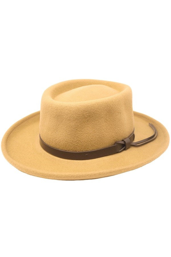 SHILOH PORK PIE HAT