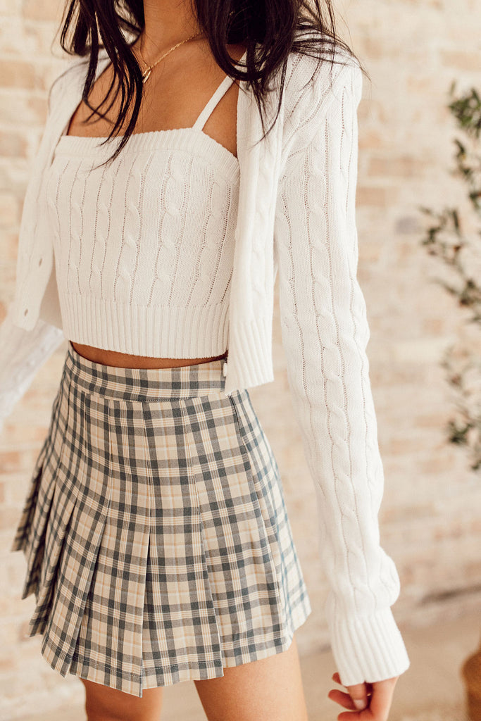 Maisie Plaid Tennis Skirt