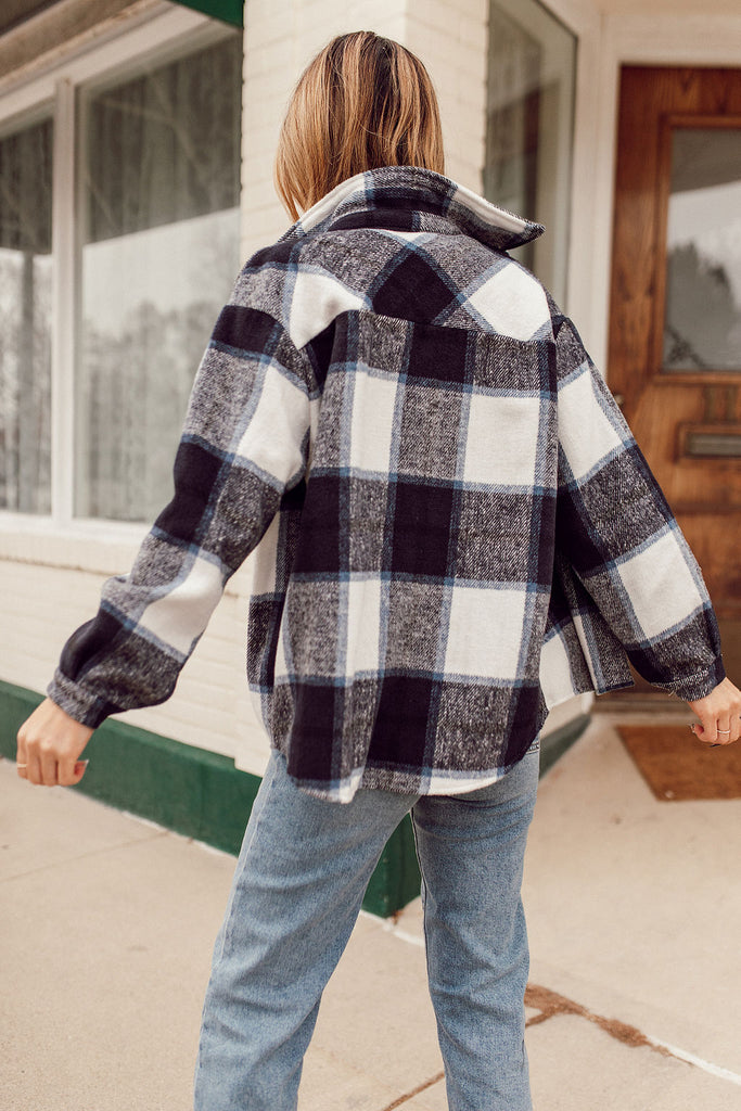 Bonita Flannel Plaid Button Down