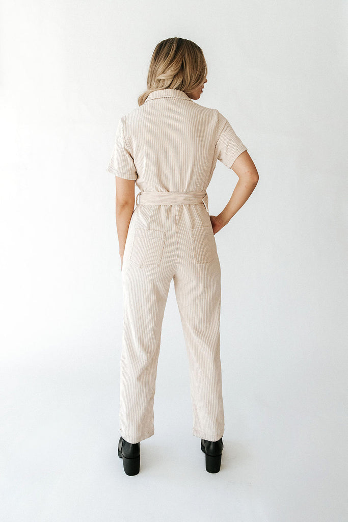 Love Letter Cord Jumpsuit