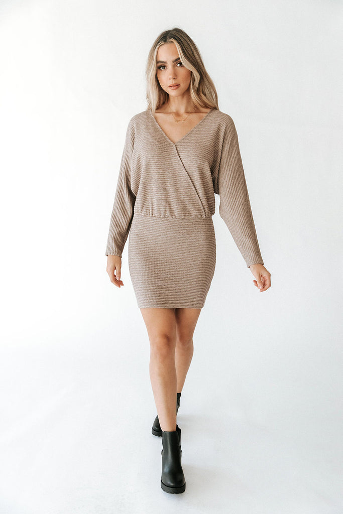 Bodycon Dolman Dress