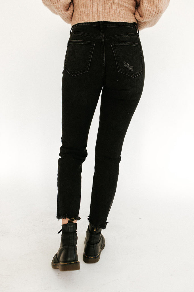 Fly High Button Front Jean