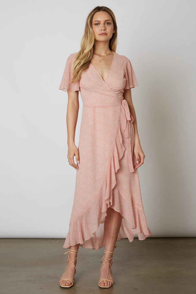 Leslie SS Wrap Dress