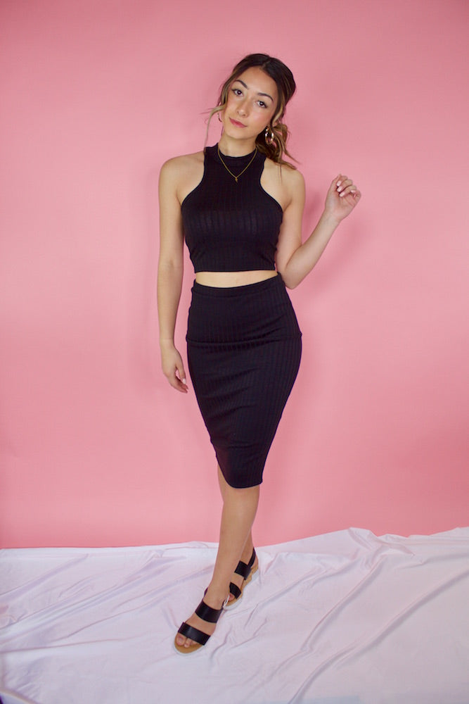 Skyline Pencil Skirt (set)