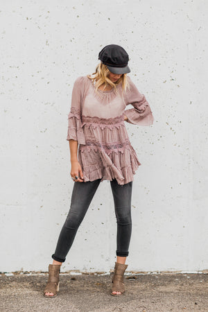 Walk This Way Crochet Tunic