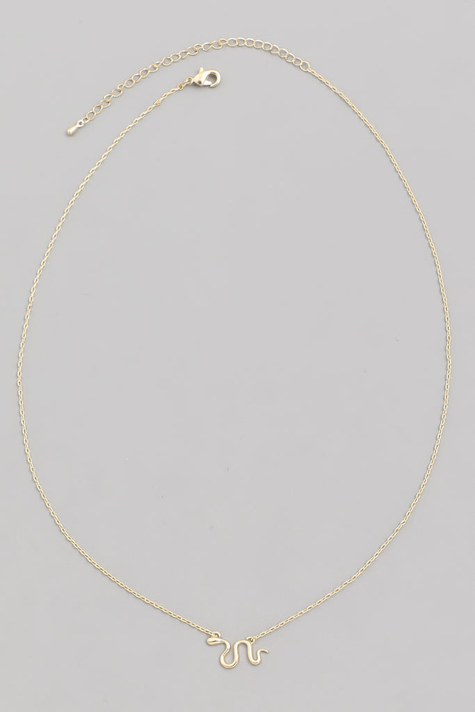 Mini Snake Dainty Necklace