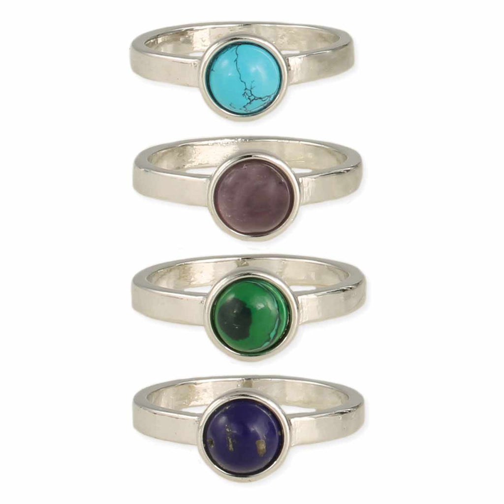 Cabochon Gemstone Ring
