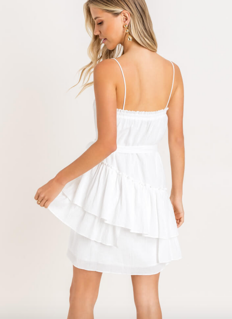 Cami Ruffle Tiered Mini Dress
