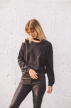 The Jamie Slit Cut Out Sweatshirt